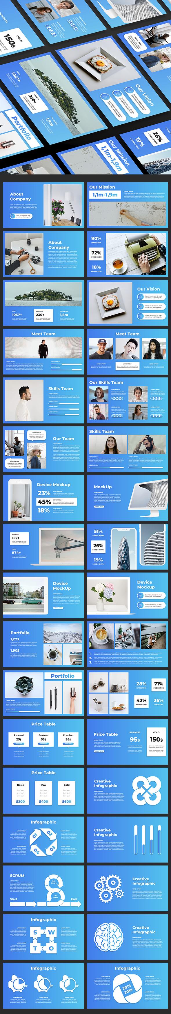 Pitch Deck Keynote Presentation - Business Keynote Templates