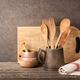 Kitchen utensils on wooden table - PhotoDune Item for Sale