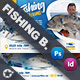 Fishing Bundle Templates - GraphicRiver Item for Sale