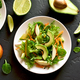 Salad with avocado, green pea, greens, apple - PhotoDune Item for Sale