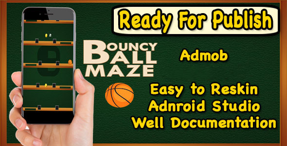 Bouncy Ball Maze - Endless Game - Android Studio - Ready For Publish - CodeCanyon Item for Sale