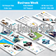 Business Week Google Slide Template - GraphicRiver Item for Sale
