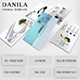 Danila Minimal Google Slide Template - GraphicRiver Item for Sale