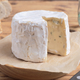 cheese and Iberian chorizo on rustic board - PhotoDune Item for Sale
