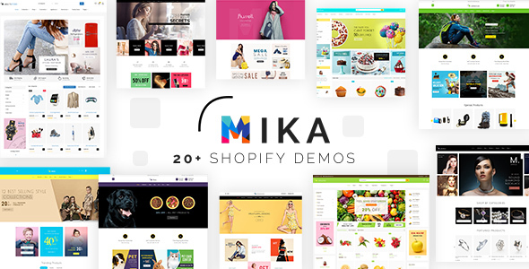 Mika – Multipurpose Sectioned Shopify Theme