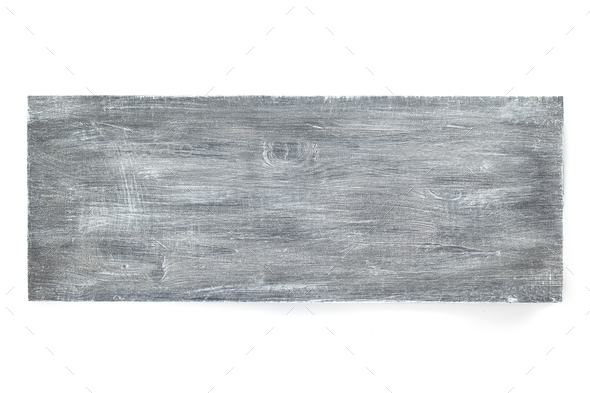 wooden board isolated on white - Stock Photo - Images