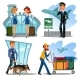 Airport Employees Set - GraphicRiver Item for Sale