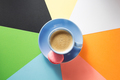 cup of coffee at paper background - PhotoDune Item for Sale