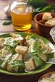 caesar salad and ingredients at wood - PhotoDune Item for Sale