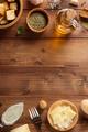caesar sauce ingredients at wood - PhotoDune Item for Sale