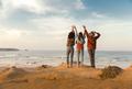 Girls looking the ocean - PhotoDune Item for Sale