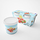 Yogurt & Cottage Cheese Set - GraphicRiver Item for Sale