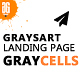 Graysart - Multipurpose Responsive App Landing Page - ThemeForest Item for Sale