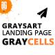 Graysart - Multipurpose Responsive App Landing Page