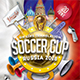 Soccer Cup 2018 Flyer Template - GraphicRiver Item for Sale