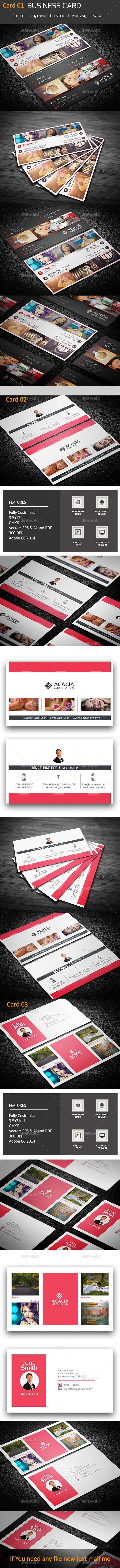 Business Cards Bundle 19 - Corporate Business Cards