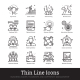 Business Leadership, Teamwork And Management Icons - GraphicRiver Item for Sale