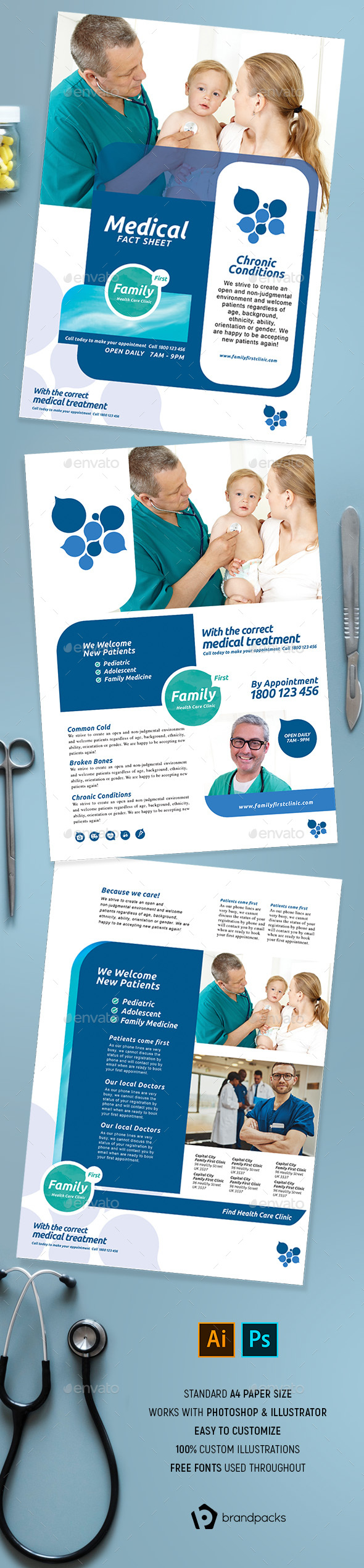 Corporate Medical Flyer / Poster - Corporate Flyers