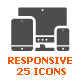 Responsive & Device Filled Icon - GraphicRiver Item for Sale