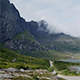 Cars, Clouds and Mountains in Lofoten - VideoHive Item for Sale