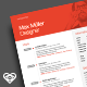 Neue Swiss Resume CV - GraphicRiver Item for Sale