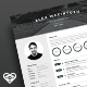 Mono Resume - GraphicRiver Item for Sale