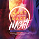 Abstract Night Party Flyer - GraphicRiver Item for Sale
