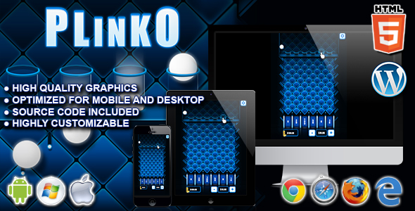 Plinko - HTML5 Casino Game - CodeCanyon Item for Sale