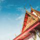 part off thailand buddist temple roof - PhotoDune Item for Sale
