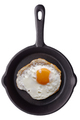 Fried egg on a frying pan - PhotoDune Item for Sale