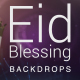 Eid Blessing Backdrop