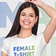 Female T-Shirt Mockups Vol5. Part 1 - GraphicRiver Item for Sale