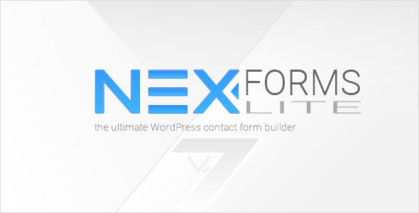 NEX-Forms Lite - WordPress Form Builder Plugin - CodeCanyon Item for Sale
