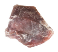 rough pink Flint stone (Chalcedony) isolated - PhotoDune Item for Sale