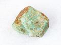 raw Amazonite stone on white - PhotoDune Item for Sale