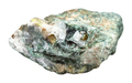 Chrysoberyl crystals in raw beryl rock isolated - PhotoDune Item for Sale