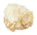 rough Topaz gemstone isolated on white - PhotoDune Item for Sale