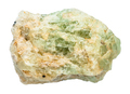 rough chrysoberyl (green beryl) crystal isolated - PhotoDune Item for Sale