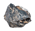 rough Hematite crystal isolated on white - PhotoDune Item for Sale