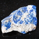 raw Lazurite (Lapis Lazuli) stone on black - PhotoDune Item for Sale