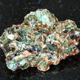 green beryl crystals in rough rock on black - PhotoDune Item for Sale