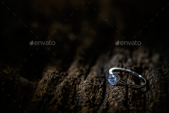 A precious lady's ring - Stock Photo - Images
