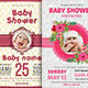 Baby Shower Invitation Bundle - GraphicRiver Item for Sale