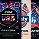 4th Of July Flyers Bundle - GraphicRiver Item for Sale
