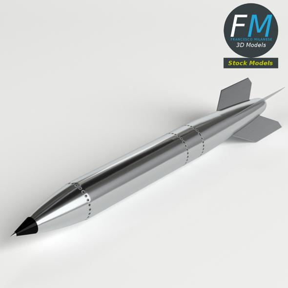 B61 Nuclear Bomb - 3DOcean Item for Sale