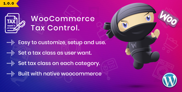 WooCommerce Tax Control            Nulled