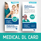 Corporate Medical DL Card Template - GraphicRiver Item for Sale