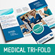 Corporate Medical Trifold Brochure - GraphicRiver Item for Sale
