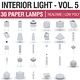 Interior Light Vol 5 - Paper Lamps 30 Pack