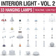 Interior Light Vol 2 - 30 Hanging Lamps